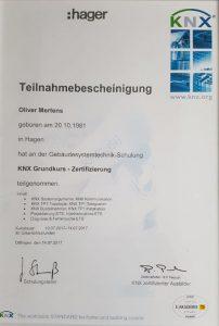 KNX Oliver Mertens